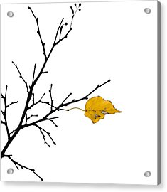 Autumn Winds - Featured 3 Acrylic Print by Alexander Senin