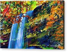 Autumns Calm Acrylic Print by Darren Fisher