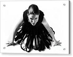 Avant Garde Fashion Acrylic Print by Diane Diederich