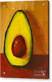 Avocado Palta 7 - Modern Art Acrylic Print by Patricia Awapara