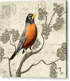 Awaiting Journey Acrylic Print by Lourry Legarde