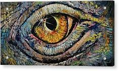 Awakened Dragon Acrylic Print by Michael Creese