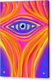 Awakening The Desert Eye Acrylic Print by Daina White
