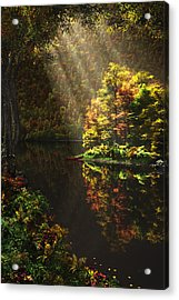 Away From It All Acrylic Print by John Robichaud