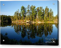 Awesub Morning 2 Acrylic Print by Larry Ricker