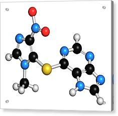 Azathioprine Immunosuppressive Drug Acrylic Print by Molekuul