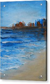 Azure Acrylic Print by Jane  See