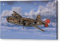 B-24 Liberator Acrylic Print by Dale Jackson