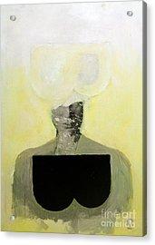 B Acrylic Print by Zek