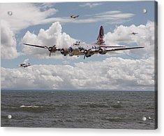 B17 The Hardest Mile Acrylic Print by Pat Speirs