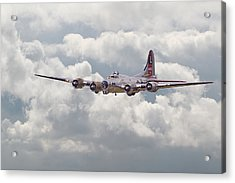 B17- Yankee Lady Acrylic Print by Pat Speirs