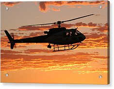 B3 Sunset Acrylic Print by Paul Job