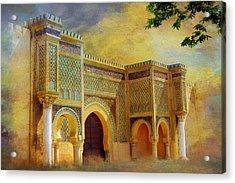 Bab Mansur Acrylic Print by Catf
