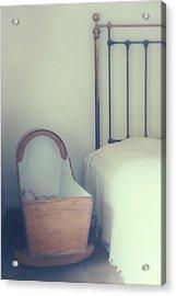Baby Crib Acrylic Print by Joana Kruse
