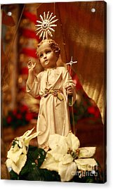 Baby Jesus Acrylic Print by Gaspar Avila