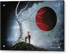 Original Surreal Paintings By Erback Acrylic Print by Shawna Erback