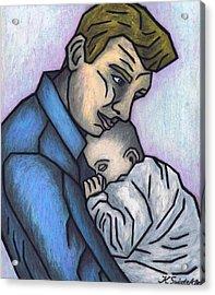 Baby's Lullaby Acrylic Print by Kamil Swiatek