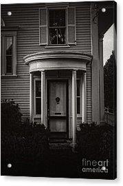 Back Home Bar Harbor Maine Acrylic Print by Edward Fielding