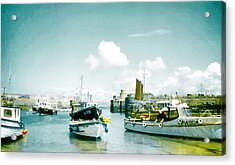 Back In The Olden Days Acrylic Print by Steve Taylor