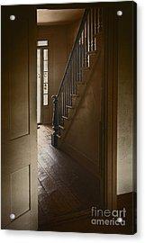 Back Stairway Acrylic Print by Margie Hurwich