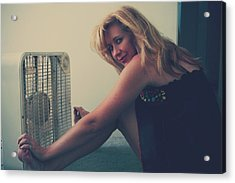 Back When There Were Heatwaves Acrylic Print by Laurie Search