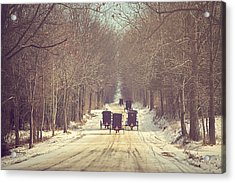 Backroad Buggies Acrylic Print by Carrie Ann Grippo-Pike
