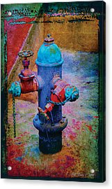 Backstreets Vi Acrylic Print by Bill Jonas