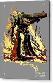 Bad Robot Acrylic Print by Brian Kesinger