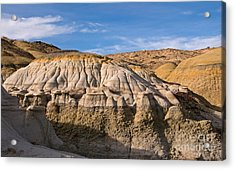 Badlands Erosion Acrylic Print by Vivian Christopher