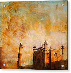 Badshahi Mosque Acrylic Print by Catf