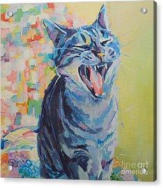 Bah Humbug Acrylic Print by Kimberly Santini