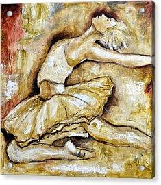 Bailarina Acrylic Print by Ivan Guaderrama