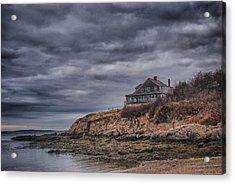 Bailey's Island 14342c Acrylic Print by Guy Whiteley