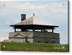 Bake House At Old Fort Niagara Acrylic Print by Rose Santuci-Sofranko