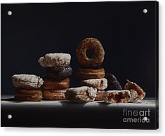 Bakers Dozen Acrylic Print by Larry Preston