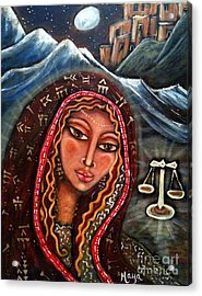 Balance Acrylic Print by Maya Telford
