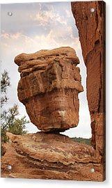 Balanced Rock Acrylic Print by Mike McGlothlen