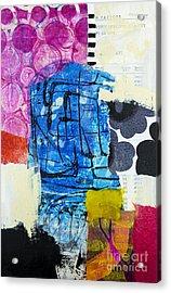 Balancing Acrylic Print by Elena Nosyreva