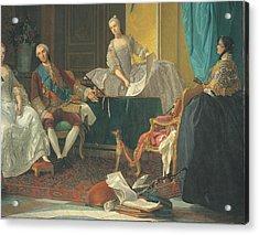 Baldrighi Giuseppe, The Family Of Don Acrylic Print by Everett
