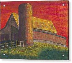 Balducci Sunset Acrylic Print by Garry McMichael