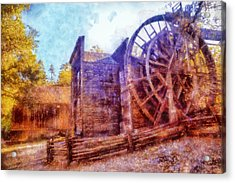 Bale Grist Mill Acrylic Print by Kaylee Mason