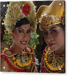 Bali Beauties Acrylic Print by Bob Christopher