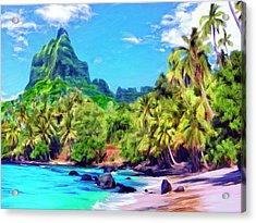Bali Hai Acrylic Print by Dominic Piperata