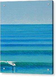 Bali Lines Acrylic Print by Nathan Ledyard