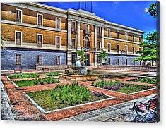 Ballaja Barracks Museum  Acrylic Print by Diosdado Molina