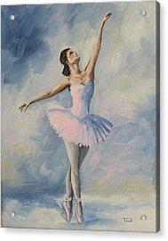 Ballerina 001 Acrylic Print by Torrie Smiley