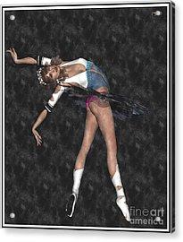 Ballerina B1 Acrylic Print by Pemaro