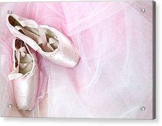 Ballerina Dreams Acrylic Print by Zina Zinchik