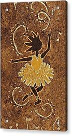Ballerina Acrylic Print by Katherine Young-Beck
