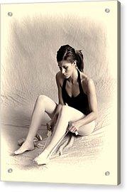 Ballerina Acrylic Print by Phyllis Taylor